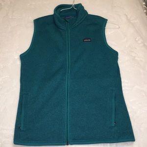 Patagonia Teal Vest (Women's Size Medium)